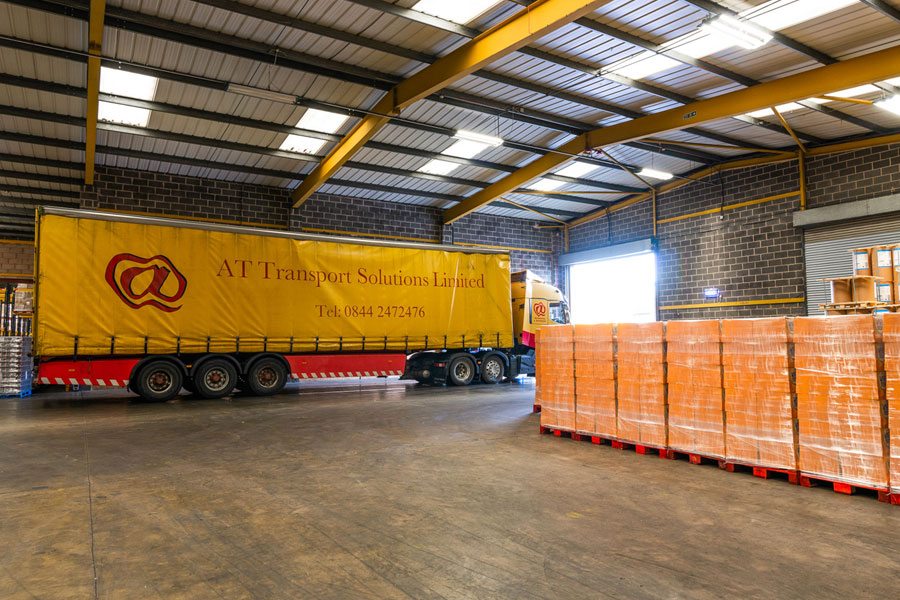 at transport are leading warehouse contractors uk