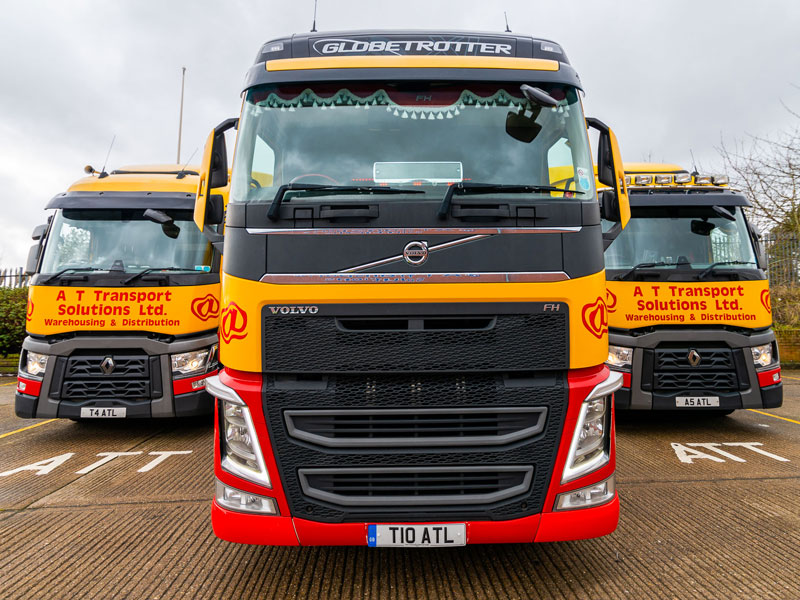 AT Transport solutions road haulage specialists