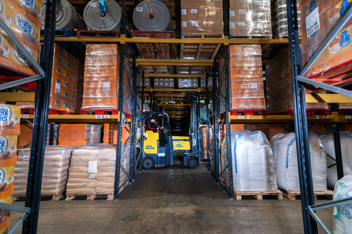 at transport specialise in racked storage